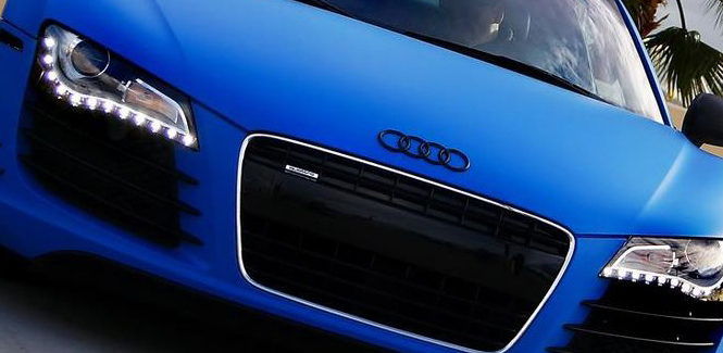 Audi R8 Vehicle Wraps