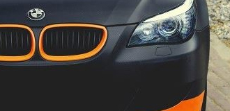 BMW Matte Vehicle Wraps