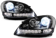 Mercedes Custom Headlights