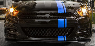 Dodge Dart Racing Stripes