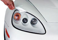Porsche Headlight Tint Kits