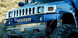 Hummer H2 Chrome Trim