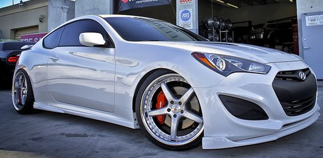 Hyundai Genesis Coupe Caliper Covers