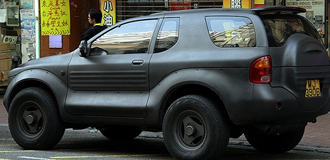 Isuzu Vehicross Vehicle Wraps