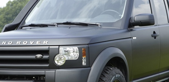 Land Rover Discovery Matte Black Wraps
