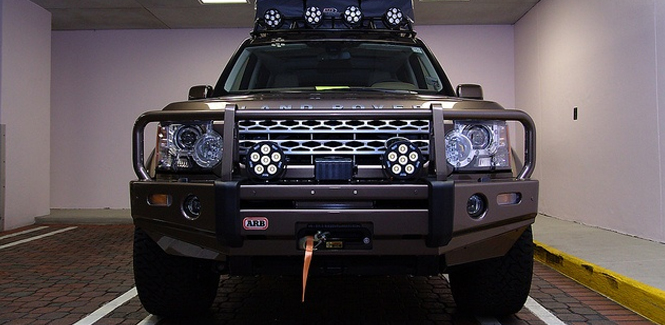 Land Rover LR4 Lighting Accessories