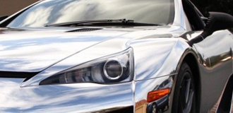 Lexus LFA Chrome Trim