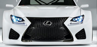 Lexus RCF Aftermarket Headlights