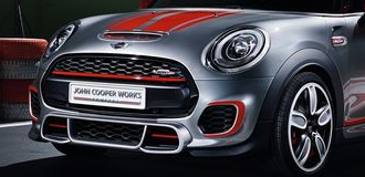 Mini Cooper John Cooper Works Racing Stripes
