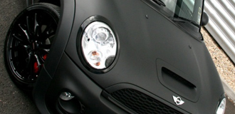 MINI Matte Black Wraps