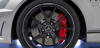 Mercedes-Benz C63 Caliper Covers