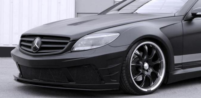 Mercedes Benz CL500 Matte Vinyl Wrap