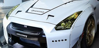 Nissan GT-R Headlight Covers