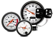 Land Rover Racing Gauges