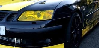 Saab 9-3 Headlight Tint