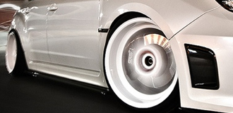 Subaru STi Caliper Covers