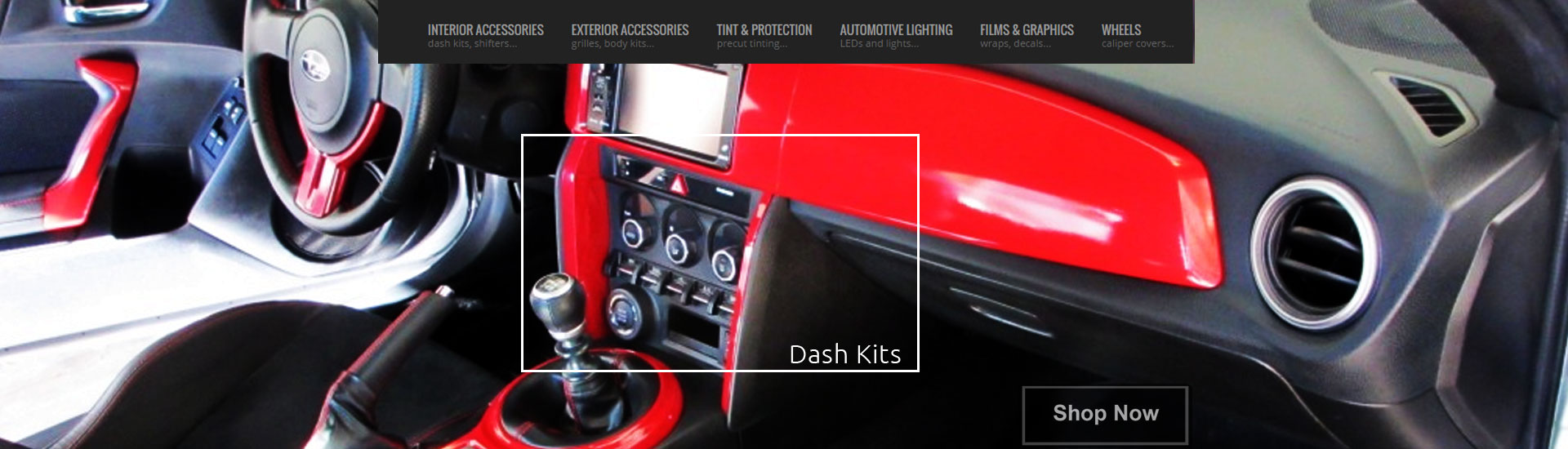 Custom Dash Kits