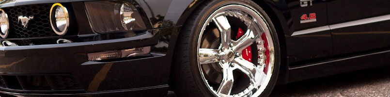 Mustang GT Custom Calipers