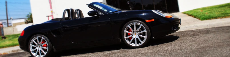 Porsche Caliper Brake Dust Guards