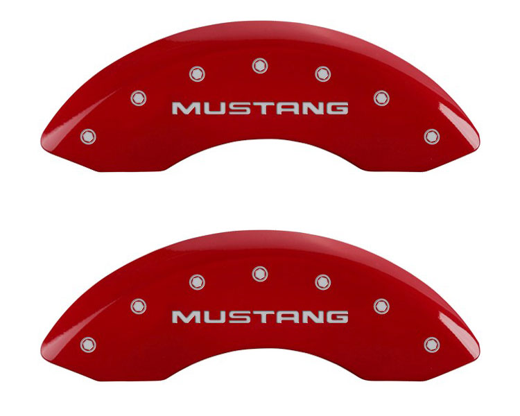 1995 Ford Mustang MGP Caliper Brake Covers