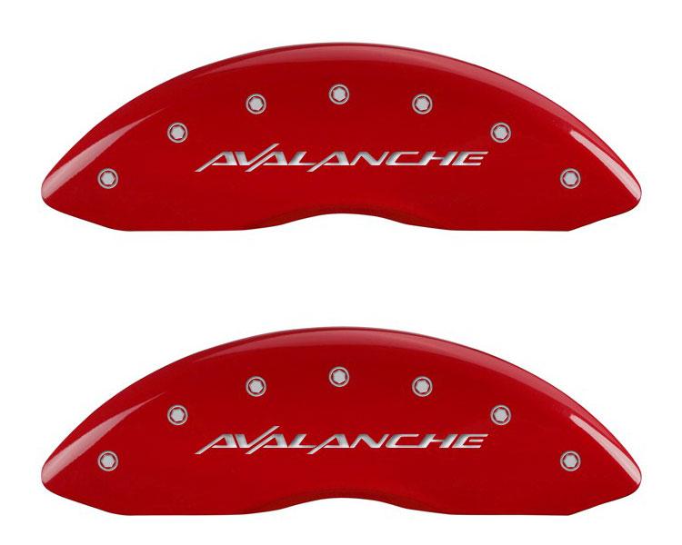 2007 Chevrolet Avalanche MGP Caliper Brake Covers