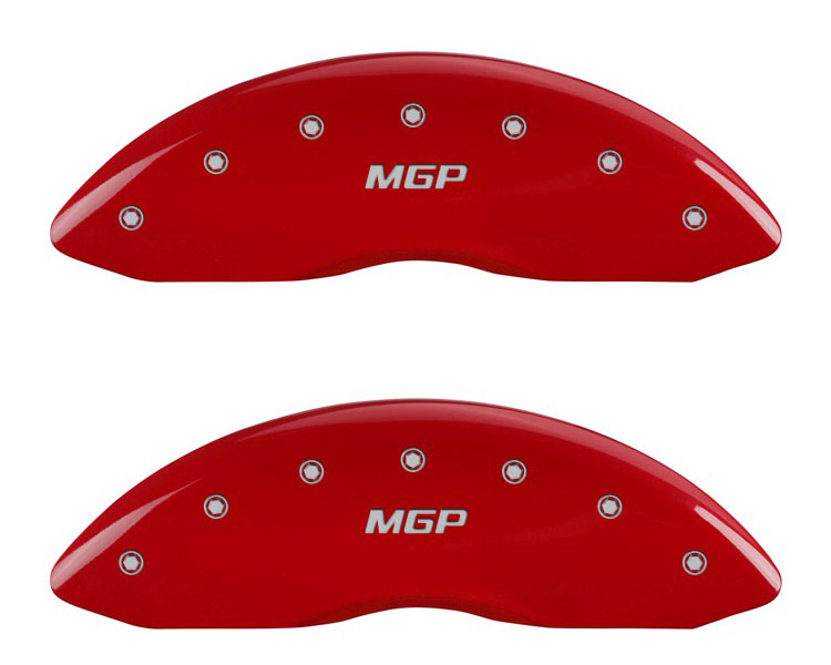 2010 Mercedes S-Class MGP Caliper Brake Covers