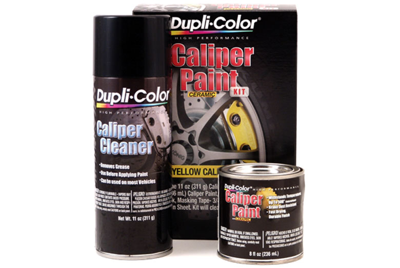 2012 Toyota FJ Cruiser Dupli-Color Caliper Paint Kit
