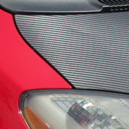 Dodge Carbon Fiber Hood Wrap