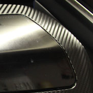 Audi Carbon Fiber Side View Mirror
