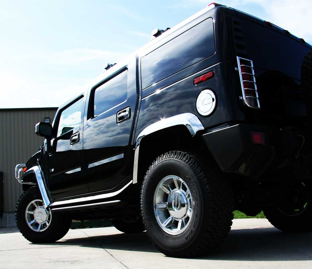 Hummer H3T Chrome Trim