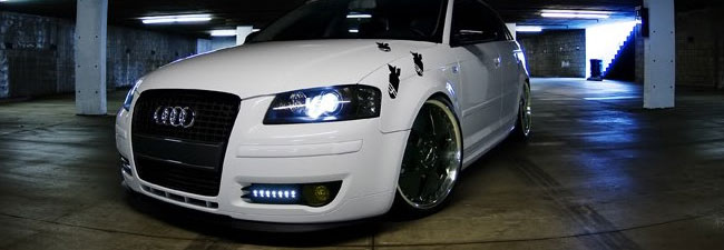 Audi DRL LED Fog Lights