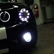 Ford Mustang Custom LED Headlights