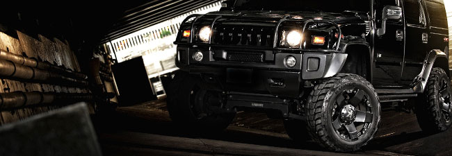 Hummer Blackout Fog Lights