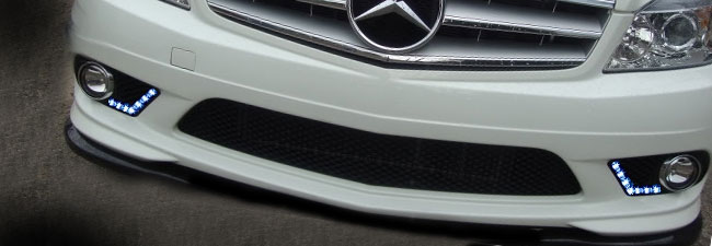 Mercedes Euro Custom Fog Lights