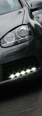 Volkswagen Golf Blackout Fog Lights