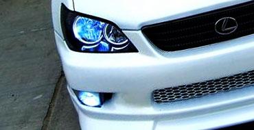 2012 Toyota FJ Cruiser Nitro Blue Fog Lights