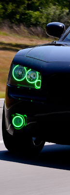 Dodge Customized Headlights