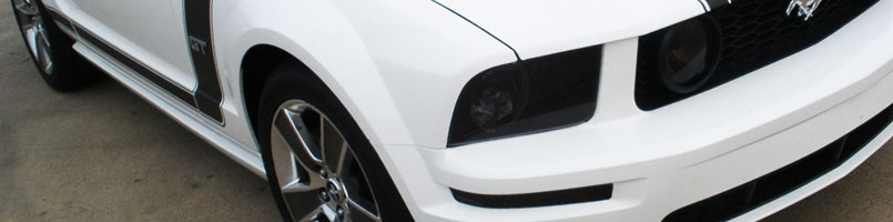 Ford Mustang Smoked Headlights