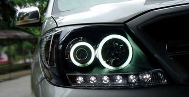 Jaguar X-Type Custom Halo Headlights