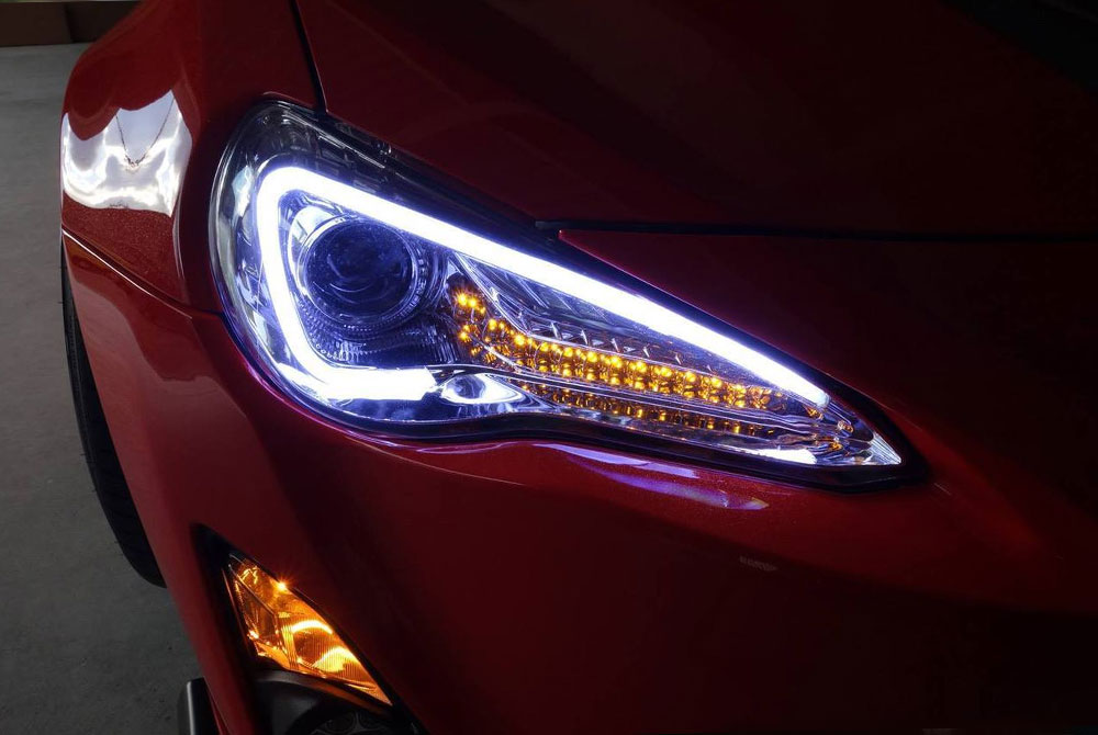 Scion Custom Headlights