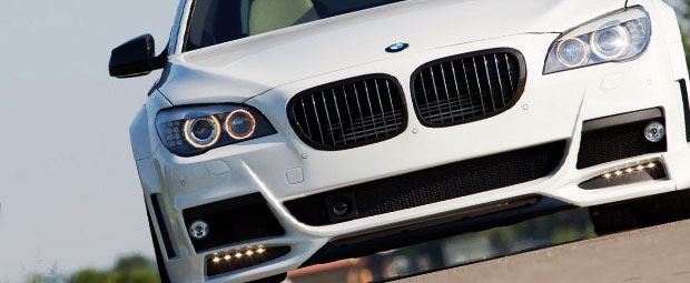 2008 BMW 535xi Projector Headlights