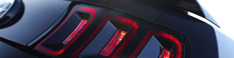 Ford Mustang Smoked Tail Lights