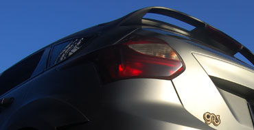 2012 Hyundai Elantra Matte Tail Lights
