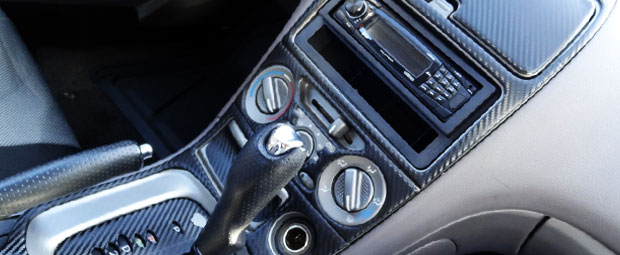 Chrysler Crossfire Carbon Fiber Dash Kits