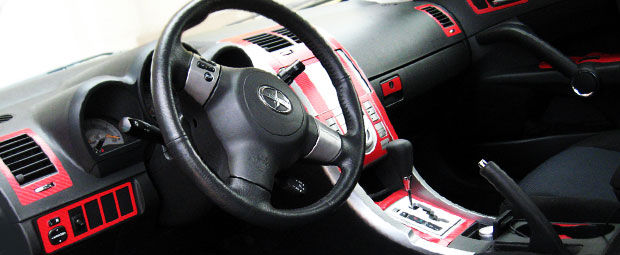 2010 Honda Civic Red Dash Kits