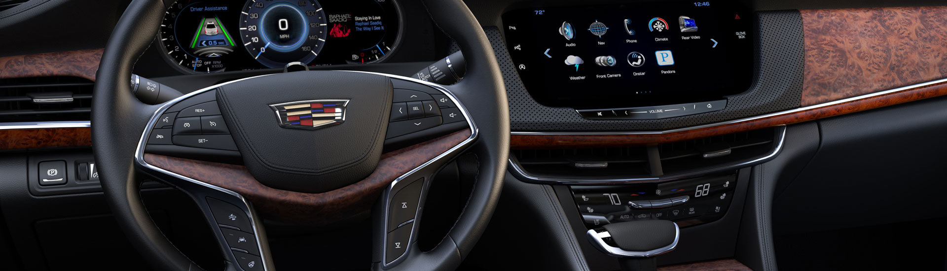 Cadillac Wood Dash Kits