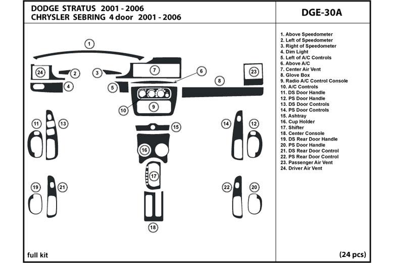 Dash Kit Diagrams