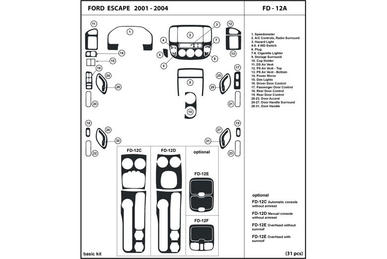 ford auto diagram