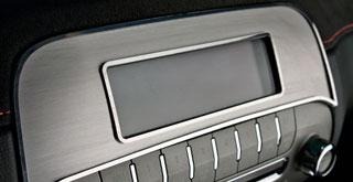 GMC Aluminum Dash Trim