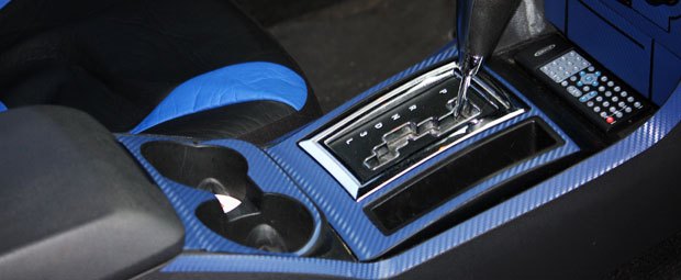 2012 Dodge Challenger 3D Carbon Dash Kits
